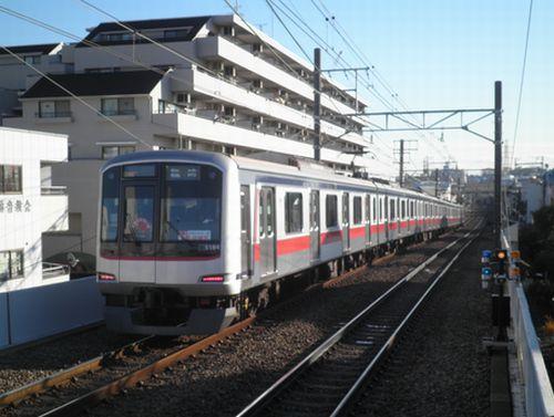 2011年「みなとみらい号」埼玉高速・南北線ルート・2