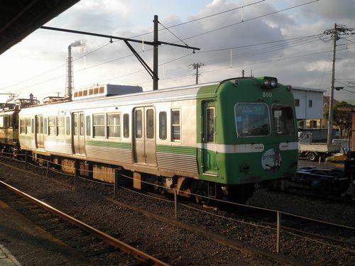 岳南鉄道モハ8001「がくちゃんかぐや富士」