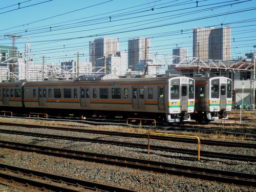 211系(田町車両センター)