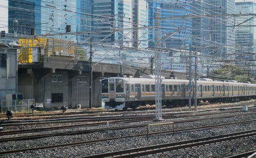 田町車両センター構内・未使用の高架橋