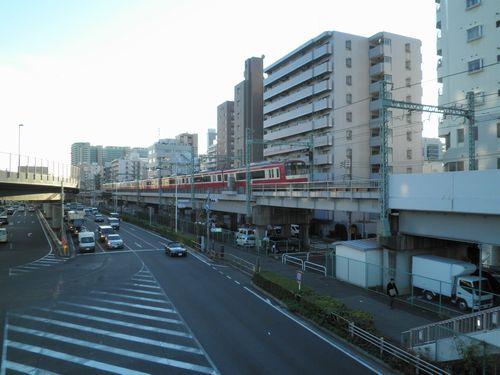 京急・立会川~大森海岸間の高架橋2