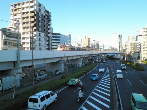 京急・立会川~大森海岸間の高架橋1