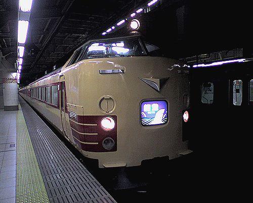 新ニイ485系「能登」(2010年3月24日・上野駅)