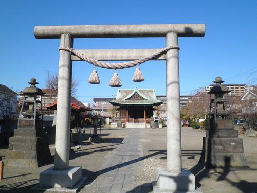 鶴見市場・熊野神社