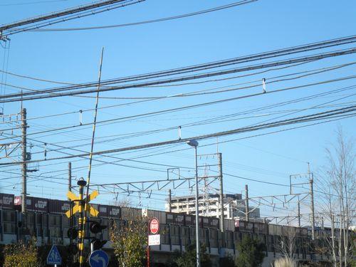 南武支線を行く貨物列車(八丁畷)