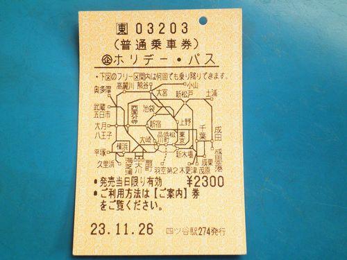 JR東日本「ホリデーパス」