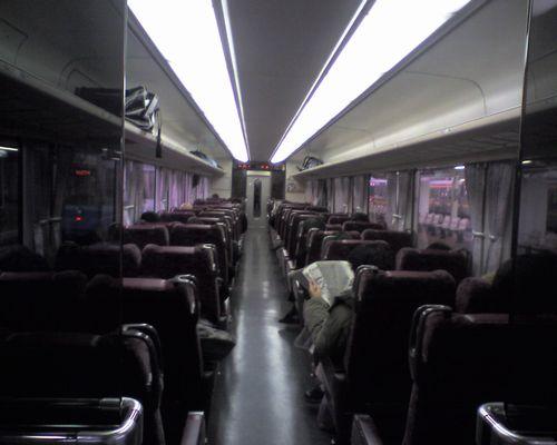 東海道本線・373系321M車内(2010年1月5日・熱海)