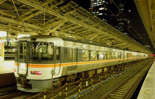 東海道本線338M(2012年2月1日・東京)1