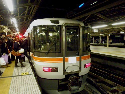 東海道本線338M(2012年2月1日・横浜)