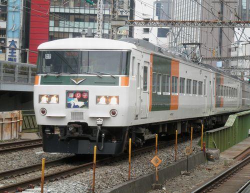 東チタ185系(2012年3月8日・有楽町)