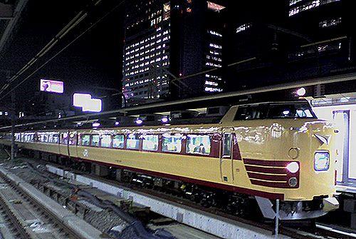 新ニイ485系「MLえちご」(2008年8月13日・新宿駅)