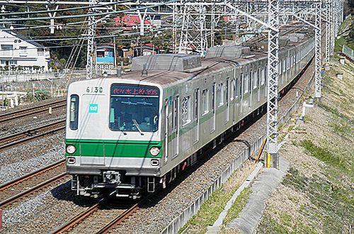 東京メトロ6000系(北小金~南柏間
