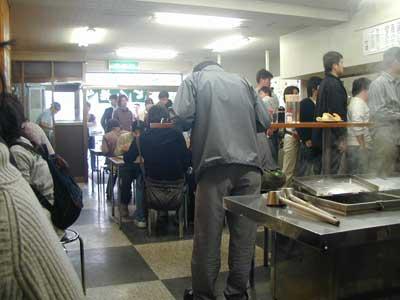竹清店内の行列