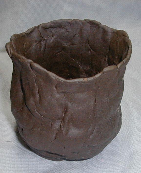 初めての陶芸作品-400mlのジョッキ
