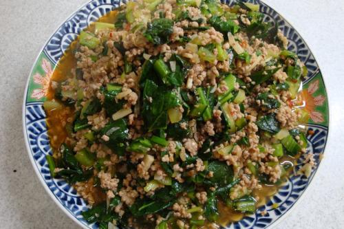 090118-010豚挽肉と青菜の炒め(縮小)