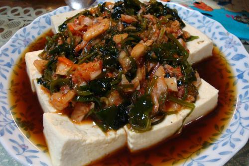 090118-020めかぶキムチ豆腐冬バージョン(縮小)