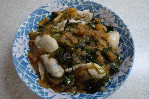 090124-030牡蠣のおろしめかぶポン酢和え(縮小)