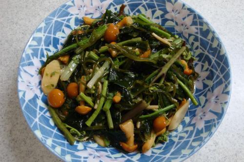 090308-030山菜とめかぶの和えもの(縮小)