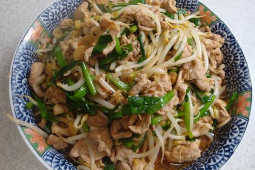 090418-010豚肉と野菜の豆板醤炒め(縮小)