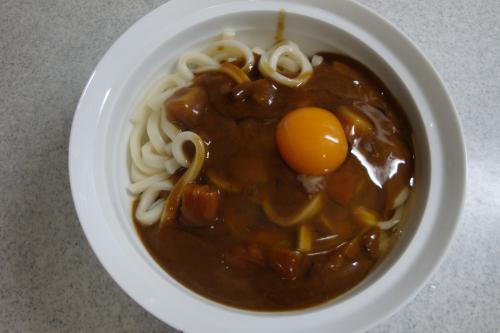 090505-001昼食カレーうどん(縮小)