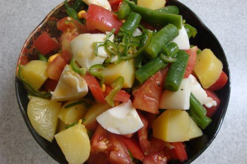 090621-020じゃがいも、いんげん、トマトのサラダ(縮小)