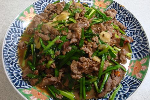090711-010牛肉とにらの炒め(縮小)