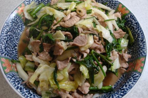 090717-010豚肉と空芯菜の炒め(縮小)