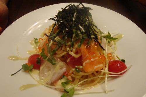 090721-海鮮とトマトの冷たいパスタ(縮小)