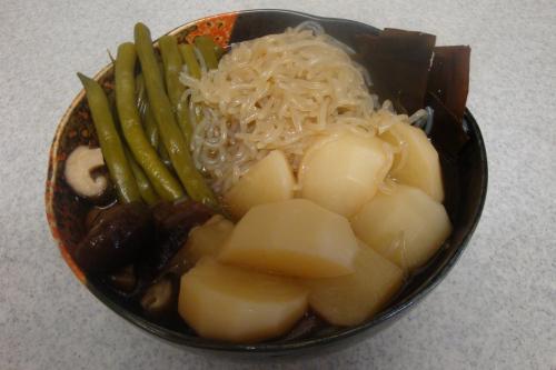 090723-030野菜としらたきの煮物(縮小)