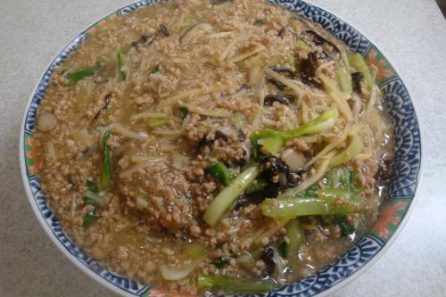 090802-010豚挽肉と竹の子と青梗菜の炒め(縮小)
