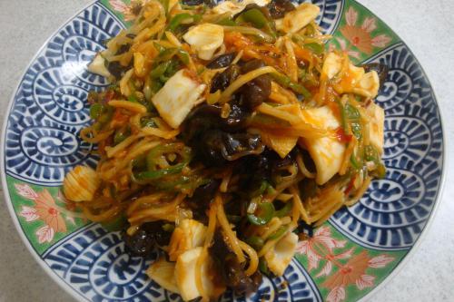 090808-020いかと野菜のチリソース炒め(縮小)
