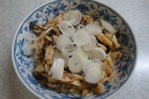090829-040鶏皮の生姜醤油(縮小)