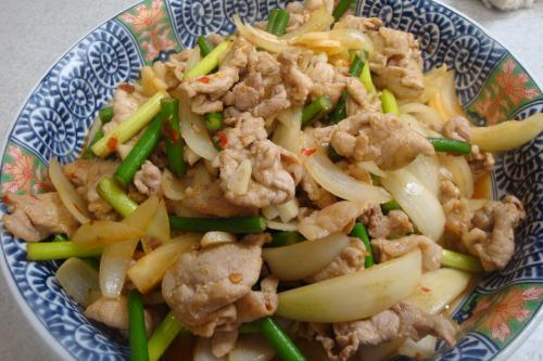 090927-010豚肉のピリカラ炒め(縮小)