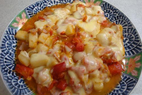 090927-021じゃがいもとトマトのチーズ焼完成(縮小)