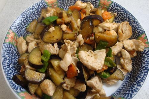091031-010鶏胸肉と野菜の味噌炒め(縮小)