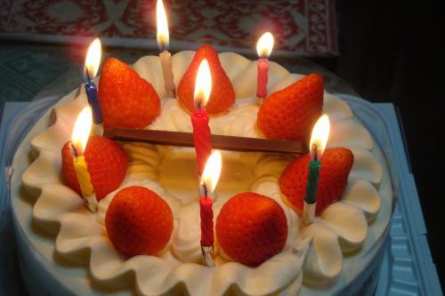 091114-030娘の誕生日ケーキ(縮小)