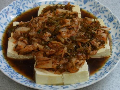 111009-020めかぶキムチ豆腐(S)