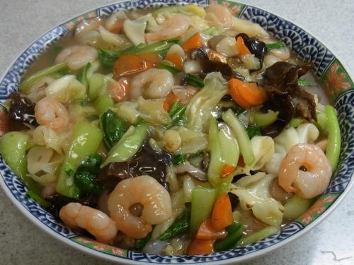 111010-030海老と野菜の炒め煮(S)