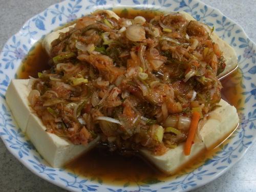 111105-030めかぶキムチ豆腐冬バージョン(S)