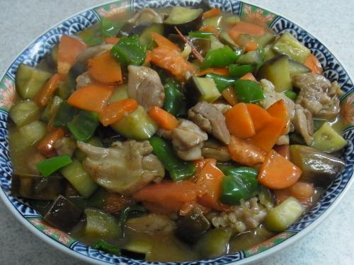 111120-110鶏肉と野菜の炒め(S)