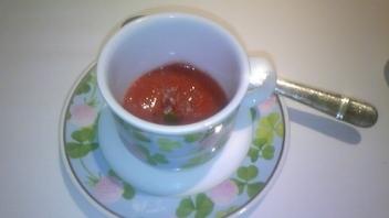 野いちごのスープ