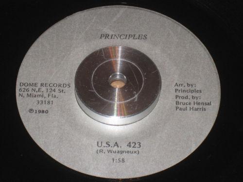Principles USA 423 Down On My Love