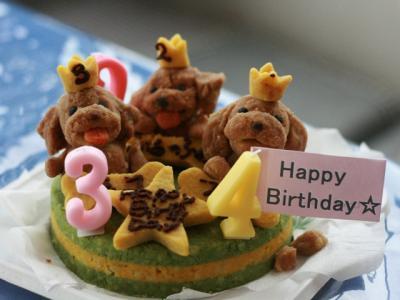 ロビナさんのケーキ♪