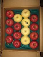 白いりんごが「1」って並んでます