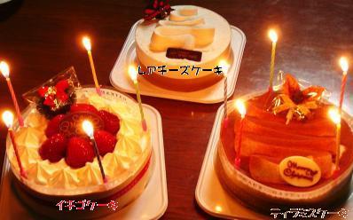 人間さんのケーキ