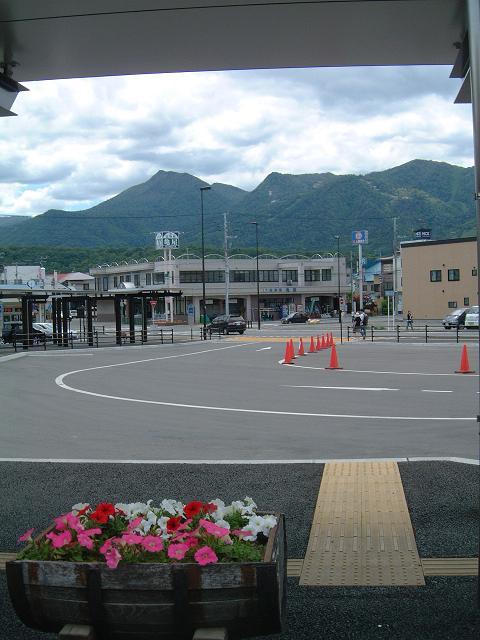 駅前からの風景
