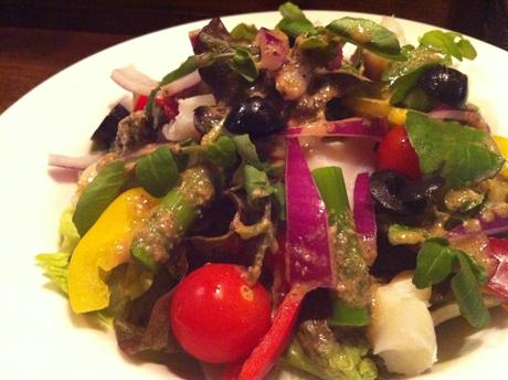 焼き鱈のサラダ