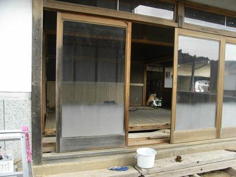 木屋改装2日目