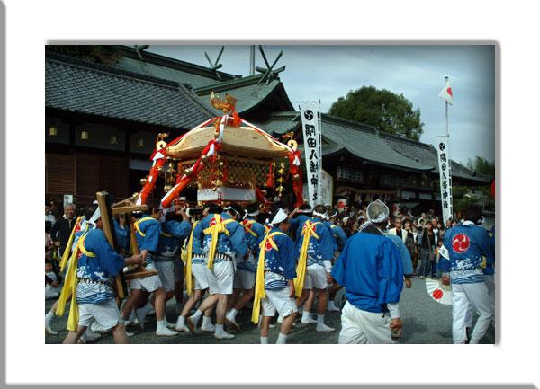 隅田八幡宮秋祭り