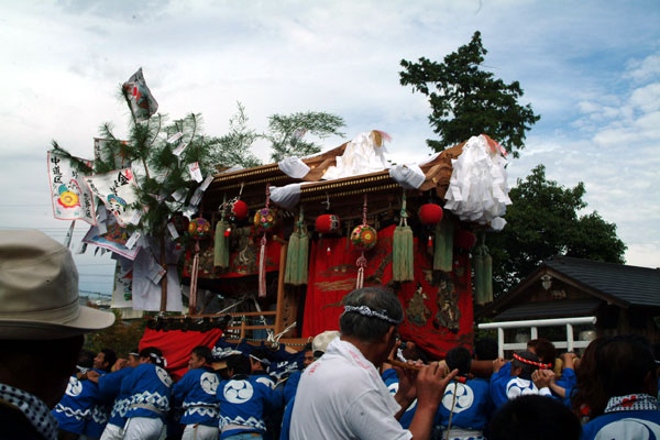 隅田八幡宮秋祭り1